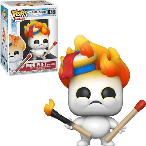Figura Mini Puft on Fire Funko Pop Ghostbusters: Afterlife Terror (Pre-Venta Llegada Aproximada Marzo - Abril 2022)