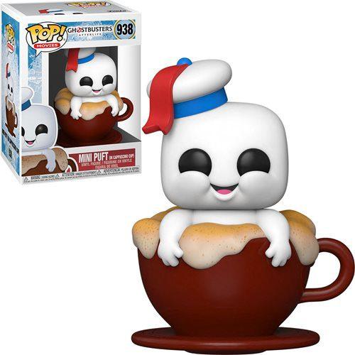 Figura Mini Puft in Cappuccino Cup Funko Pop Ghostbusters: Afterlife Terror (Pre-Venta Llegada Aproximada diciembre 2021 - Enero 2022)