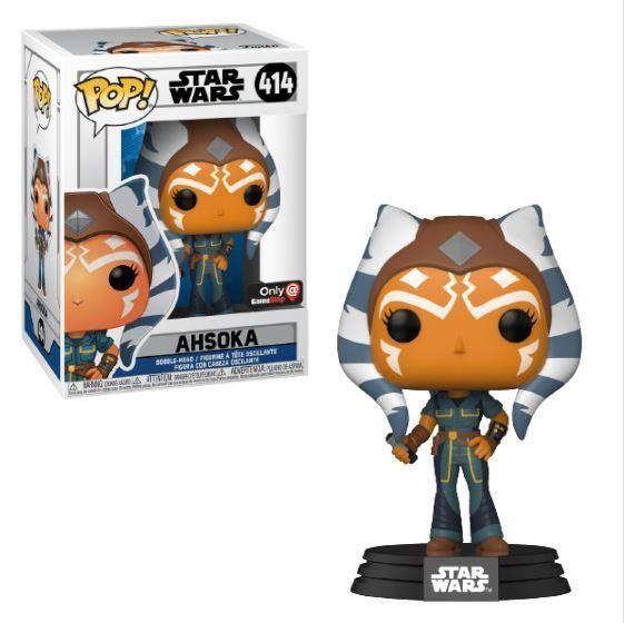 Figura Ahsoka Funko Pop Star Wars Edición Especial