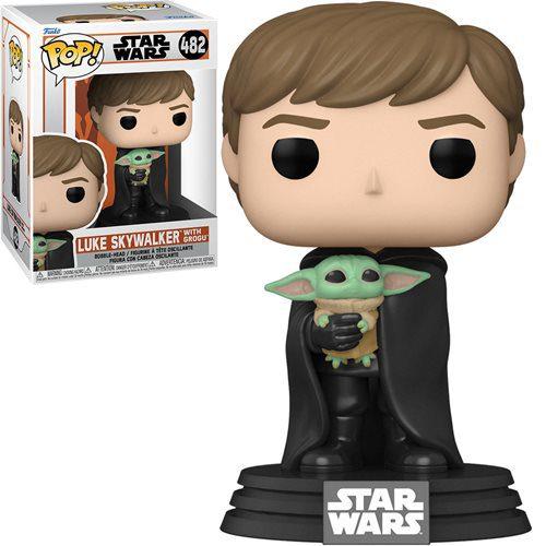 Figura Luke Con Grogu Funko Pop The Mandalorian Star Wars (Pre-Venta Llegada Aproximada Febrero - Marzo 2022)