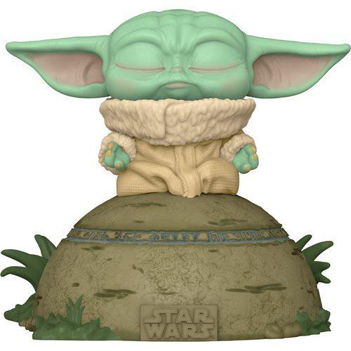 Figura Grogu Usando La Fuerza Deluxe! Funko Pop The Mandalorian Star Wars Luces y Sonido (Pre-Venta Llegada Aproximada Enero - Febrero 2022)