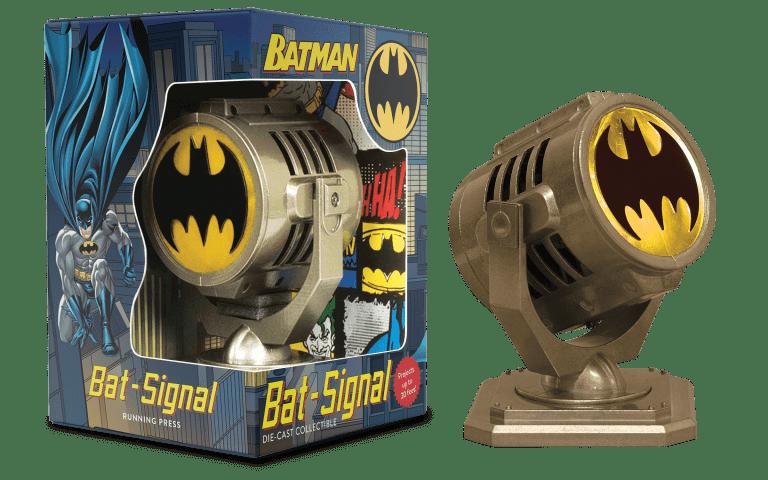 Figura Bati Señal Running Press Batman DC Comics