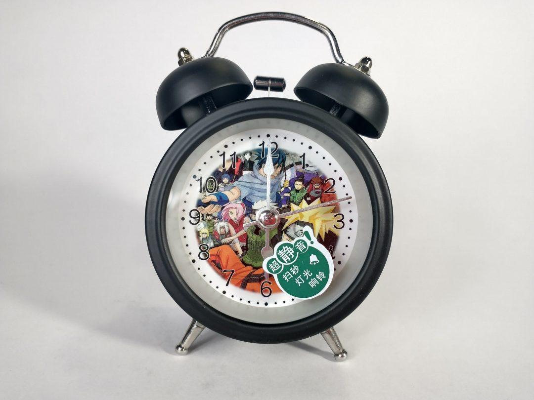Reloj Despertador Team 7 Pt Naruto Anime