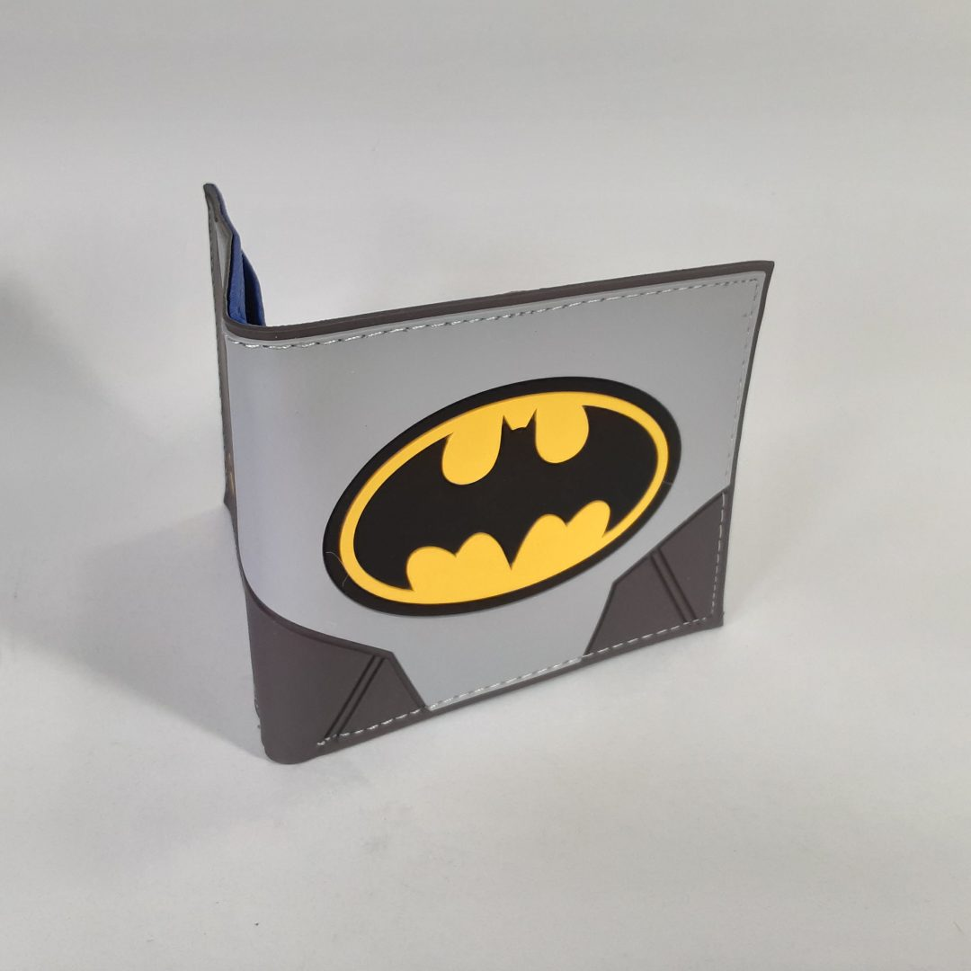 Billetera Batman Bioworld DC Comics Goma (copia)
