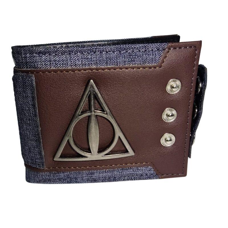 Billetera Reliquias De La Muerte PT Harry Potter Fantasia