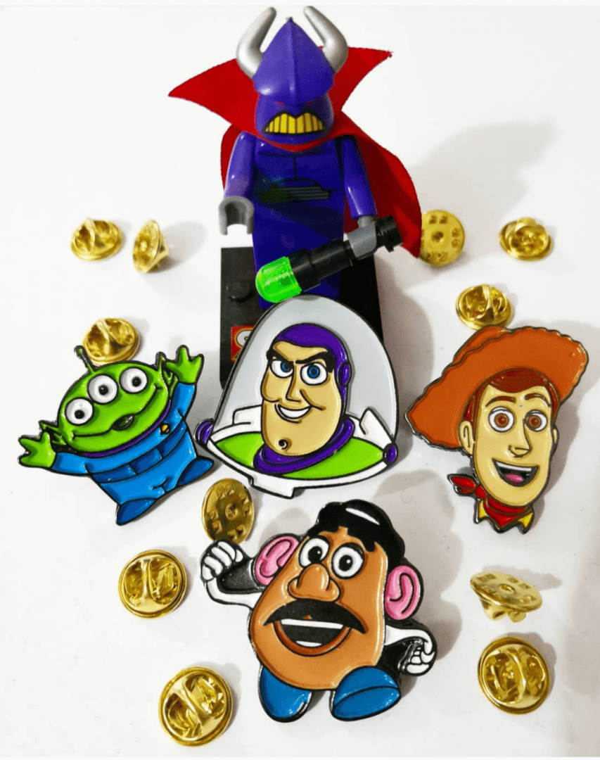 Pin Marciano TooGeek Toy Story Disney Color