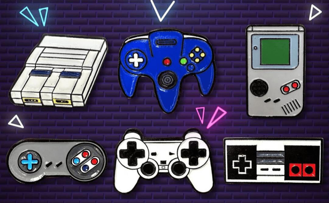 Pin Gameboy TooGeek Videojuegos Color