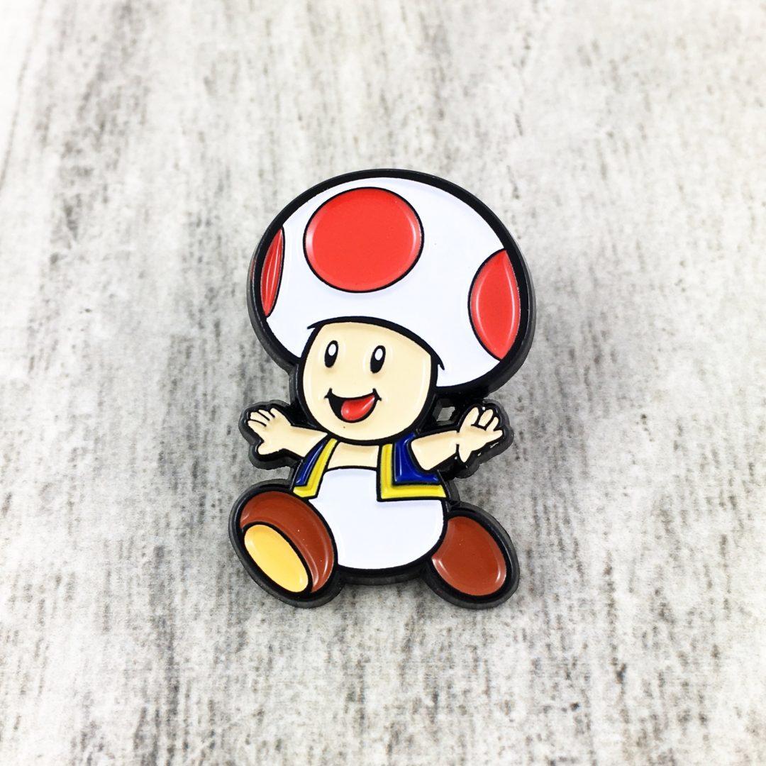 Pin Toad TooGeek Mario Bros Videojuegos Color