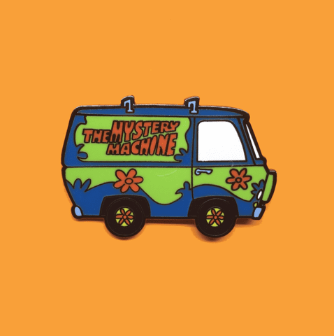 Pin Maquina Del Misterio TooGeek Scooby-Doo Animados Color