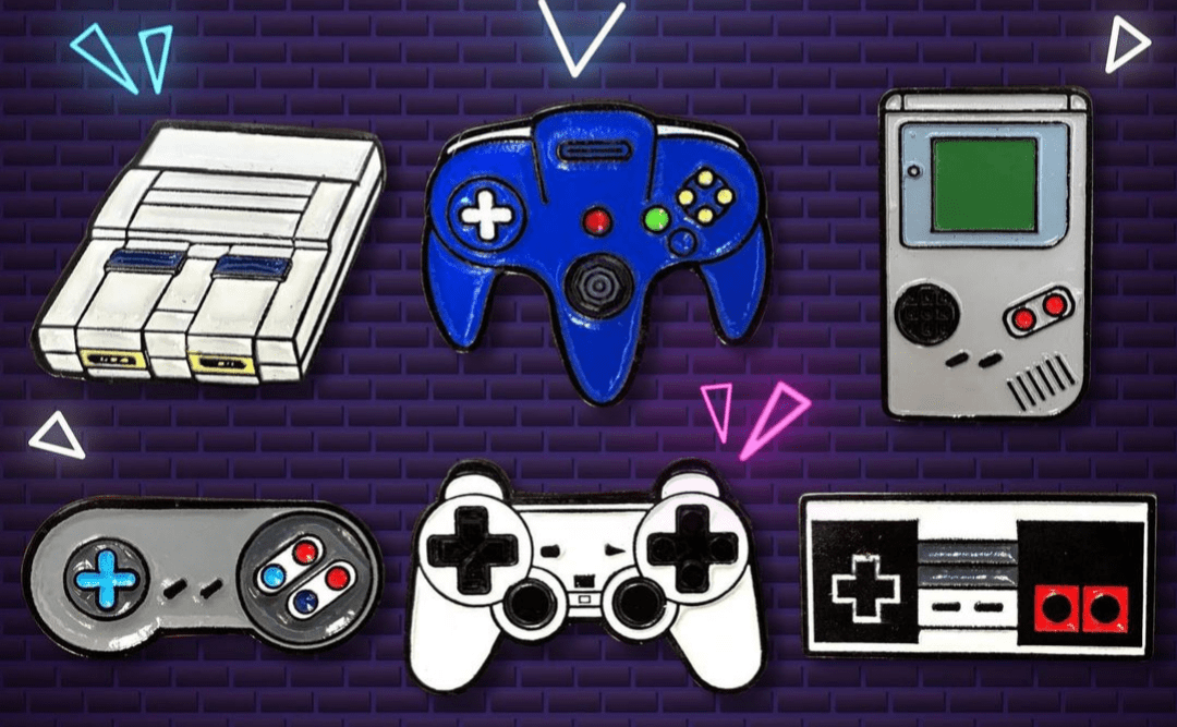 Pin Control Super Nintendo TooGeek Videojuegos Color